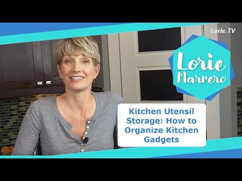 Kitchen Utensil Storage: How To Organize Kitchen Gadgets