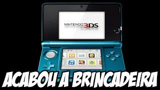 Nintendo acaba com a brincadeira de desbloquear o 3DS