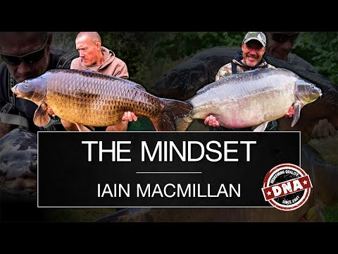 ***CARP FISHING*** THE MINDSET, IAIN MACMILLAN – DNA BAITS