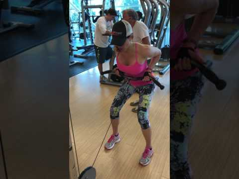 Bent Over Cable Row with JZ FITNESS