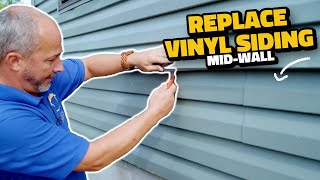 How to Replace Dąmaged Vinyl Siding