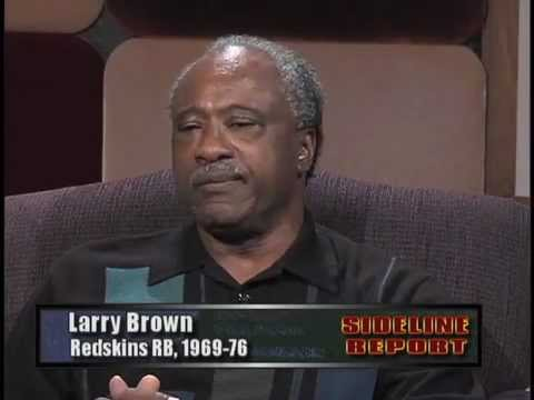 Running Backs Alfred Morris and Larry Brown on Sideline Report - 11-7-2012