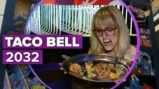 The Demolition Man Taco Bell at SDCC