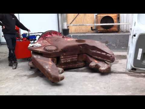 2002 ARDEN EQUIPMENT CB1100 (4600.kg) Rotative Concrete Shear Jaws Test...