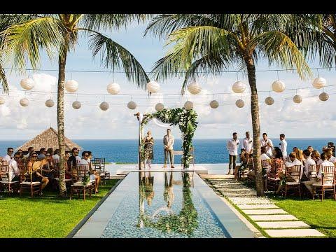Stunning Bali Villa Wedding Villa Cahaya Youtube