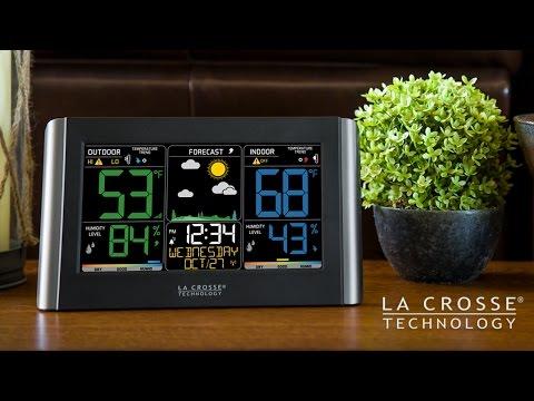 Видео Weather forecast alarm clock