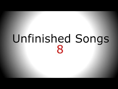 Simple Acoustic Guitar Singing backing track - Unfinished Song No.8