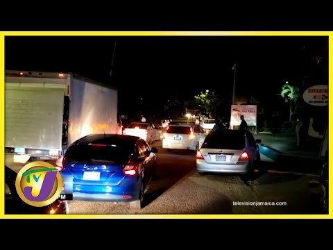 Over 50 Arrested in St. Ann Jamaica Over DRMA Breaches | TVJ News - June 19 2021