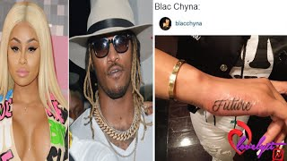 Future Responds To Blac Chyna Getting His Name Tattooed On Her Hand~Black Twitter GOES IN