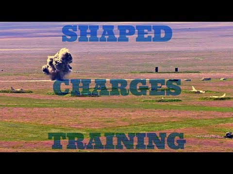 Shaped Charges Training