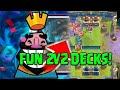 Best Decks For 2v2!! Clash Royale