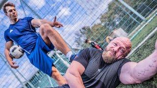 Vom Bodybuilder zum Fußballstar! Challenge vs Paul Unterleitner