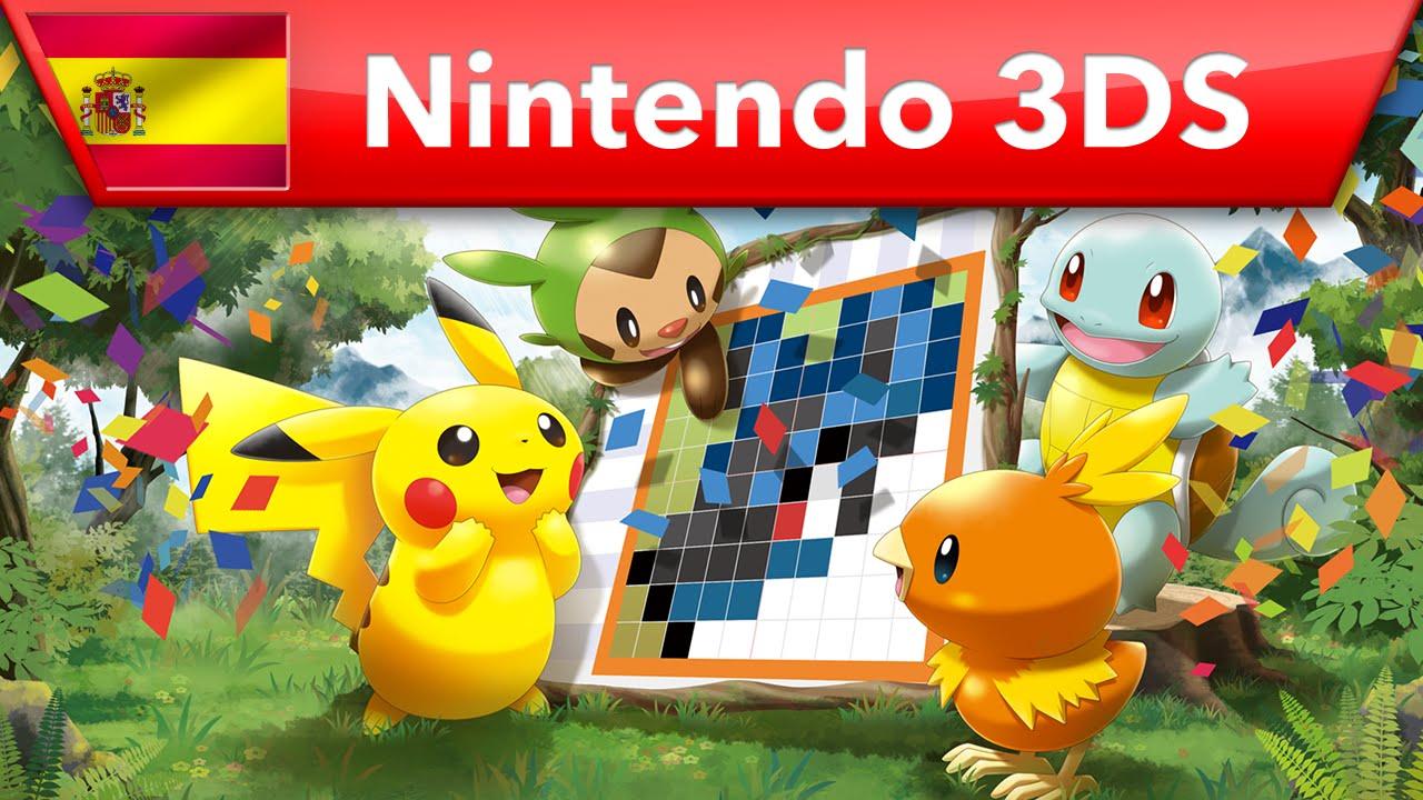 Pok mon picross tr iler de lanzamiento nintendo 3ds for Mural 1 pokemon picross