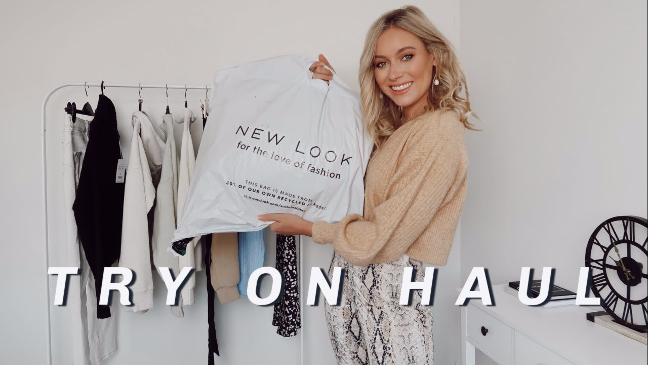 NEW LOOK TRY ON HAUL AUTUMN/FALL 2020! | Charlotte Beer