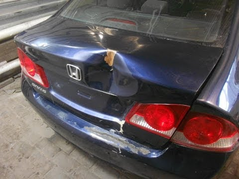 кузовной ремонт. honda civic body repair.