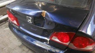 кузовной ремонт. honda civic body repair.(ремонт задней панели и крышки багажника. подробности тут andrey45.blogspot.ru/ http://vk.com/andreyshadrinsk., 2014-02-19T16:22:20.000Z)