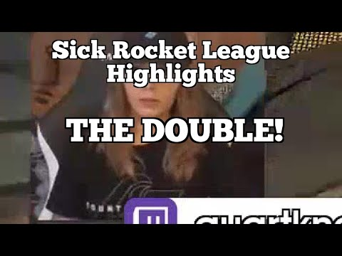 Sick Rocket League Highlights: THE DOUBLE! thumbnail