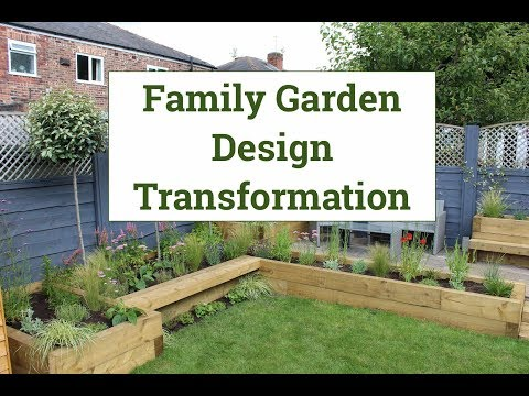 Family garden design transformation