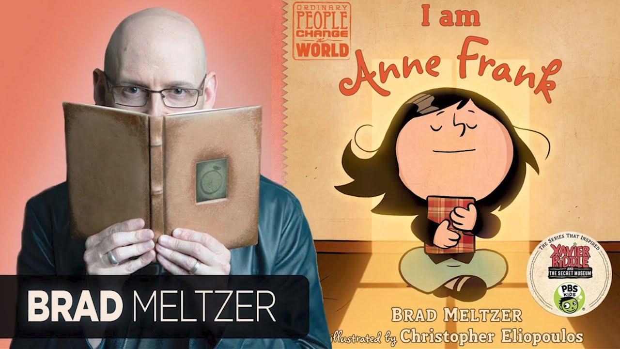 Download Storytime with Brad Meltzer - I am Anne Frank   Read with Holocaust Survivor Saul Dreier