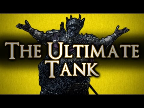DARK SOULS 3 - THE ULTIMATE TANK!! - DLC3 = EPIC DEFENSE *GONE SEXUAL*