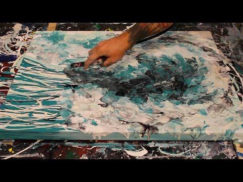 The Wave - Fluid Acrylic Art - Modern Art by Eric Siebenthal