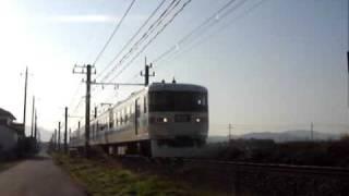 秩父鉄道3000形 通過