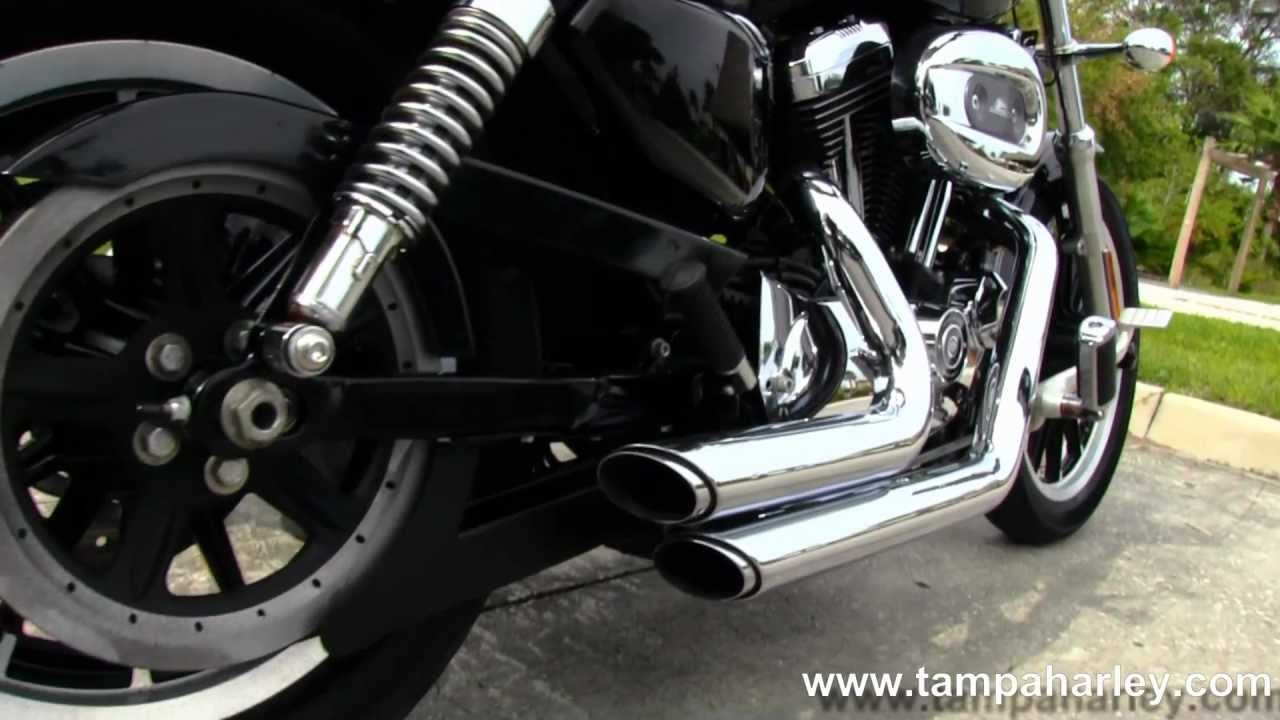 Used 2008 harley davidson sportster 1200 low xl1200l with vance