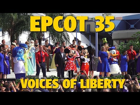 Epcot 35 Voices of Liberty Medley | Walt Disney World