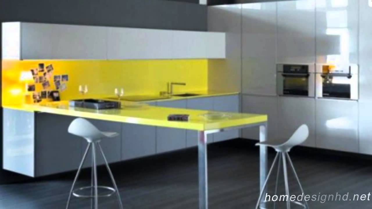 Yellow Kitchen Design Happy Beginning By Logos Latest Furniture Hd Youtube