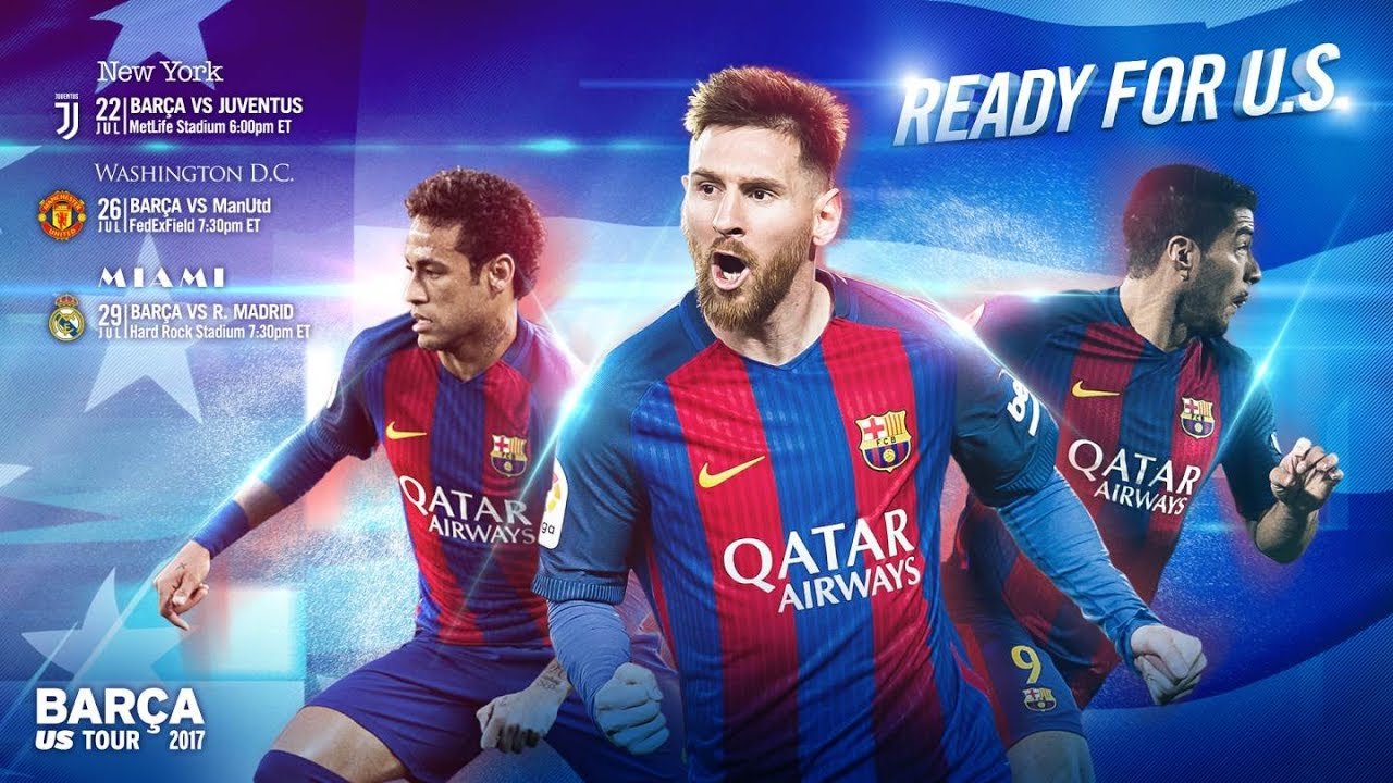 Fc Barcelona Is Ready For U S Youtube
