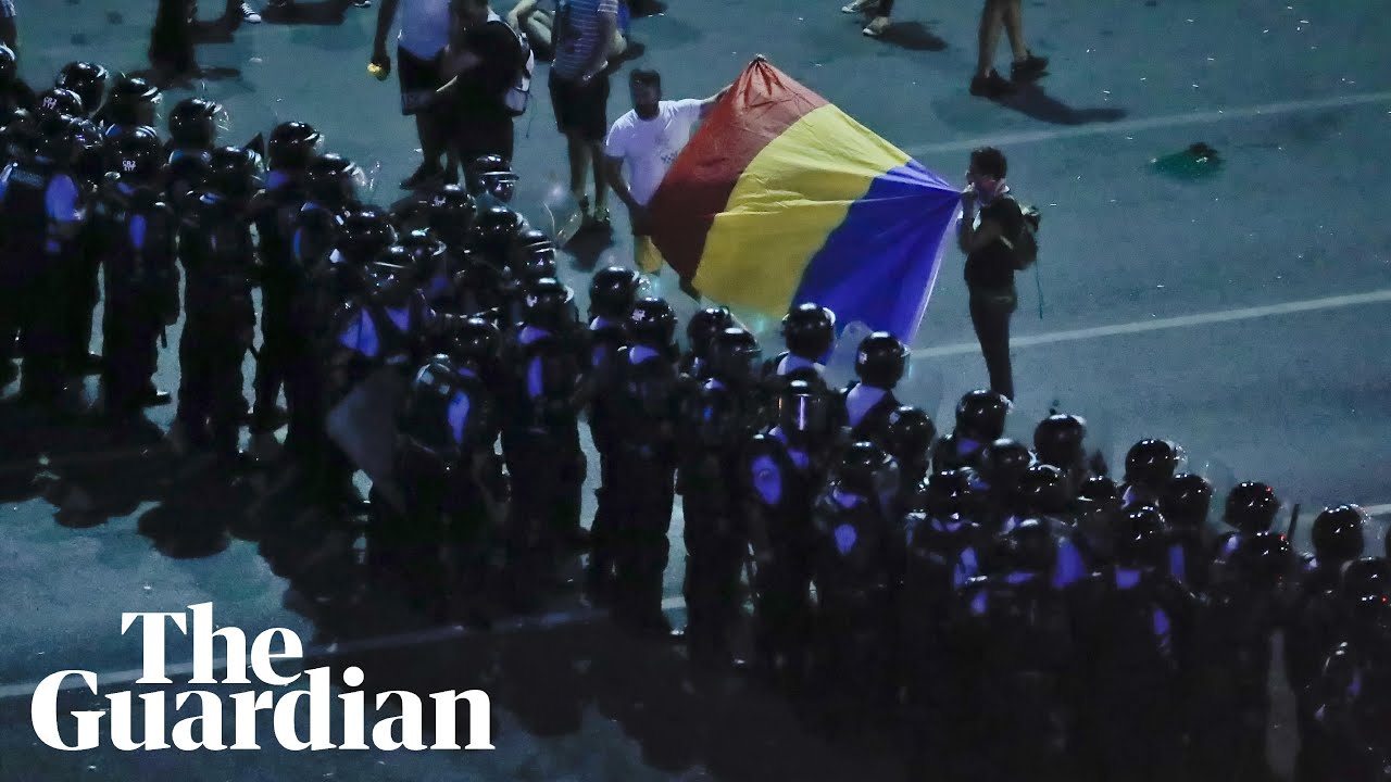 Hundreds injured during romania protests youtube hundreds injured during romania protests m4hsunfo