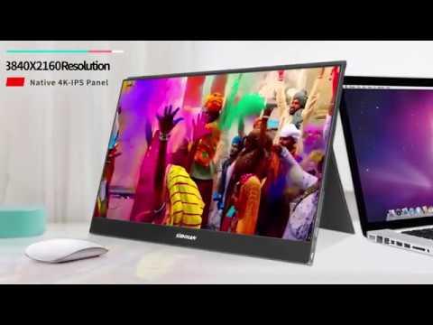 S16 4K 4mm ultra slim HDR IPS Portable Monitor