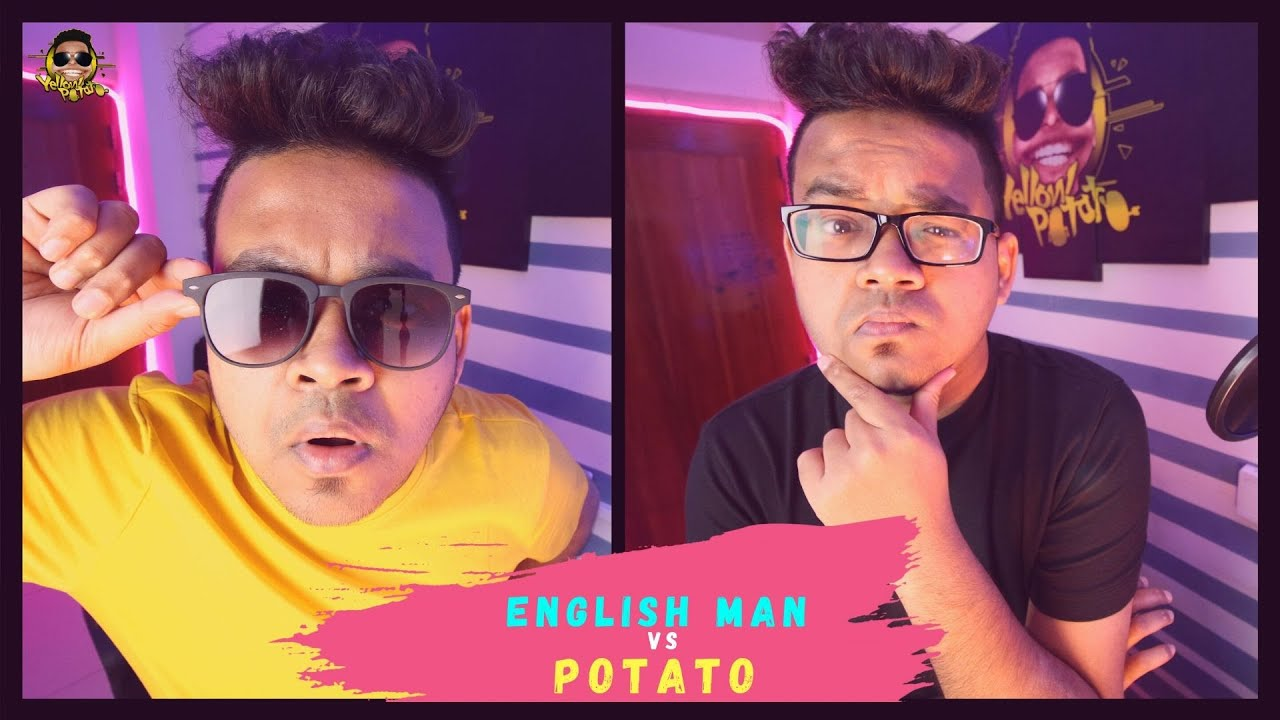 English Man Vs Potato | Yellow Potato
