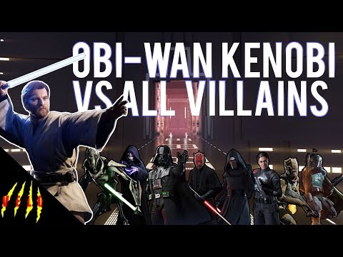 OBI-WAN VS ALL VILLAINS - Star Wars Battlefront 2 thumbnail