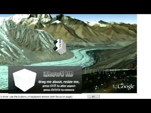Google earth monster milk truck part of mount everest with no snow