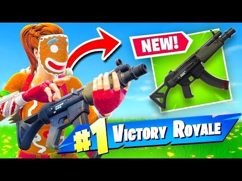 NEW SMG IN SEASON 5  || GOLF CARTS || NEW MAPS & SKINS || XBOX ONE S || FORTNITE LIVE GAMEPLAY