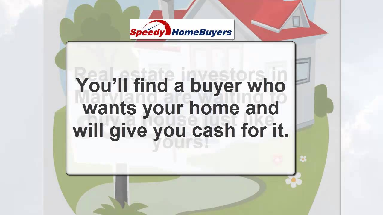 Ways Maryland Real Estate Investors Sell Houses Fast