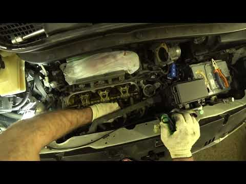 регулируем клапана на Honda Elision