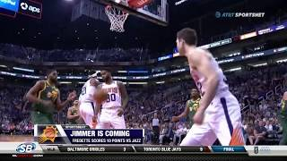 Jimmer Fredette scores 10 points against Jazz