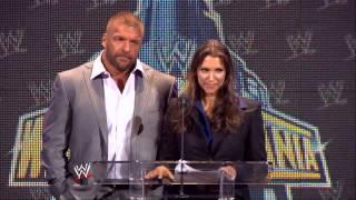 Пресс-конференция к WWE WrestleMania XXIX