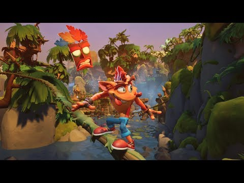 Crash Bandicoot 4: It's About Time – 3 Minutes of NEW Gameplay (PS4/XBX)