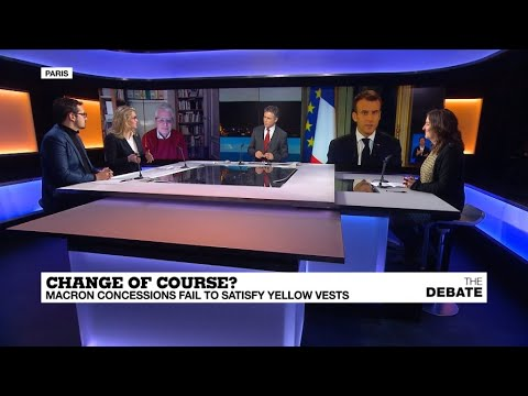 Change of course? Macron concessions fail to satisfy 'Yellow Vests'