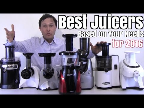 Best Juicers for 2016 Based on Your Needs