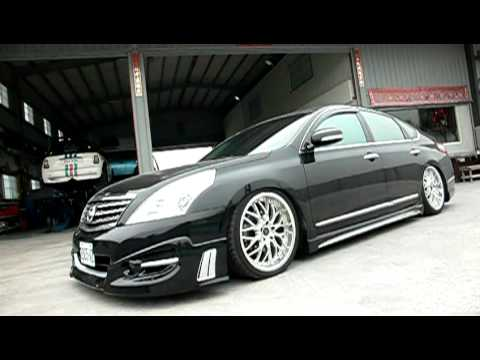 Nissan Teana J32 With Airrex Digital Air Suspension System