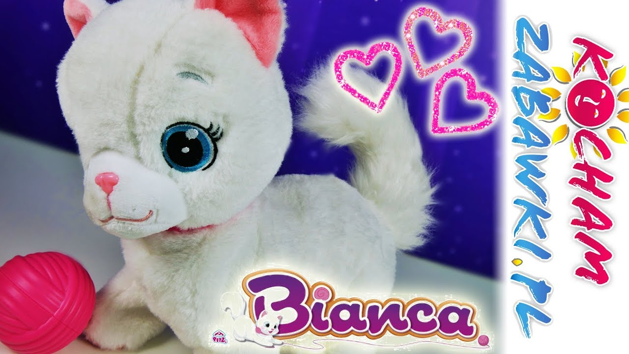 Bianca Interaktywny Kotek Club Petz Tm Toys Unboxing Youtube