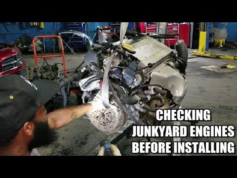Checking Junkyard Engines Before Installing
