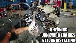 Checking Junkyard Engines Before Installing Part 1