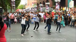 Taj Express Bollywood Flash Mob Full version HD | The PassionTve