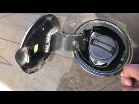 Fixing F150 Broken Fuel Door Youtube