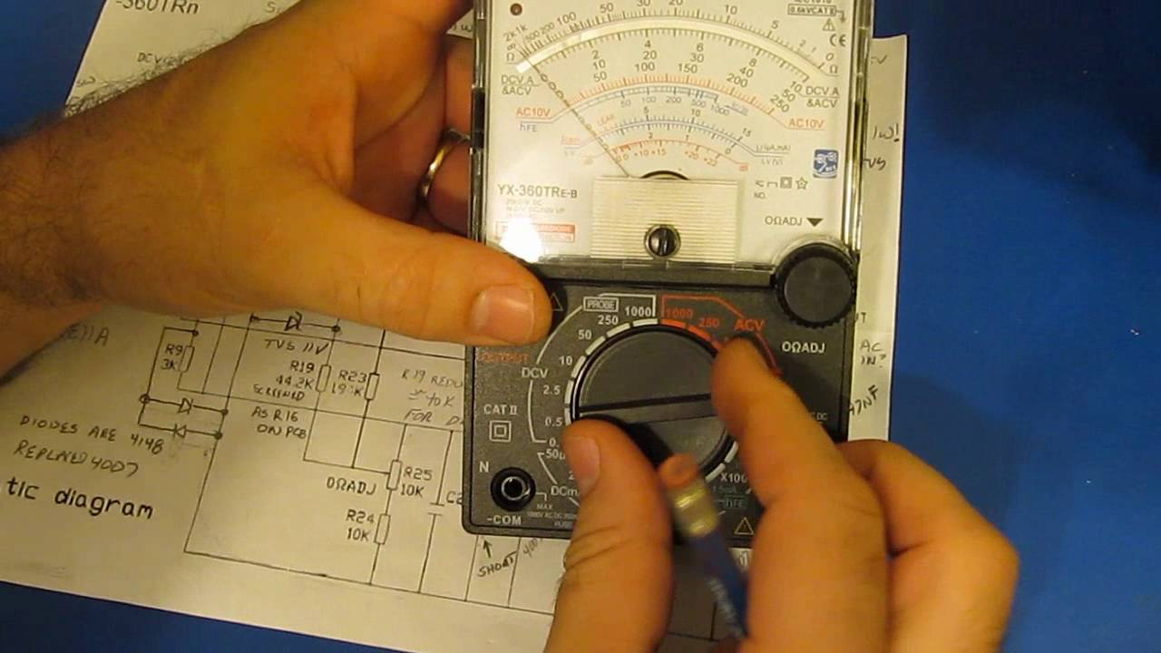 small resolution of additional mods to the tekpower sunwa yx360tr multimeter